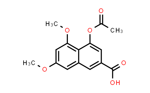 101094-29-5 | 2-Naphthalenecarboxylic acid, 4-(acetyloxy)-5,7-dimethoxy-