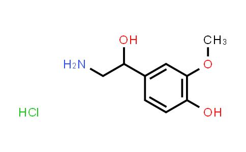 1011-74-1 | 4-(2-Amino-1-hydroxyethyl)-2-methoxyphenol hydrochloride
