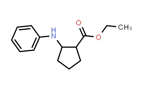 101114-33-4 | Cyclopentanecarboxylic acid, 2-(phenylamino)-, ethyl ester