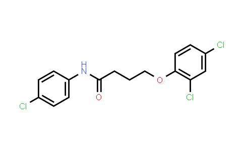 101119-43-1 | Butanamide, N-(4-chlorophenyl)-4-(2,4-dichlorophenoxy)-