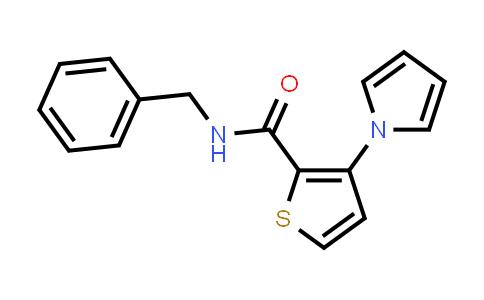 1011249-46-9 | 2-Thiophenecarboxamide, N-(phenylmethyl)-3-(1H-pyrrol-1-yl)-