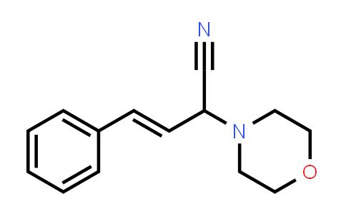 101132-14-3 | 4-Morpholineacetonitrile, α-[(1E)-2-phenylethenyl]-