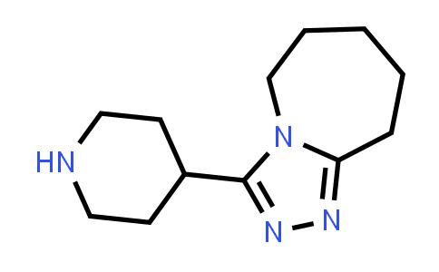 1011407-34-3 | 5H-1,2,4-Triazolo[4,3-a]azepine, 6,7,8,9-tetrahydro-3-(4-piperidinyl)-