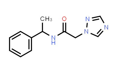 1011409-17-8 | 1H-1,2,4-Triazole-1-acetamide, N-(1-phenylethyl)-
