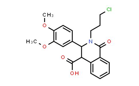 1011412-52-4 | 4-Isoquinolinecarboxylic acid, 2-(3-chloropropyl)-3-(3,4-dimethoxyphenyl)-1,2,3,4-tetrahydro-1-oxo-