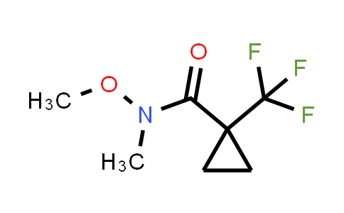 1011460-56-2 | N-Methoxy-N-methyl-1-(trifluoromethyl)cyclopropane-1-carboxamide