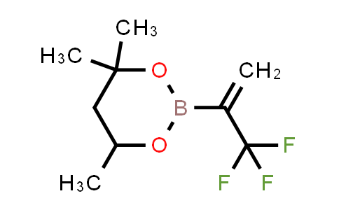 1011460-68-6 | 4,4,6-Trimethyl-2-(3,3,3-trifluoroprop-1-en-2-yl)-1,3,2-dioxaborinane