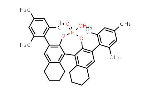 1011465-23-8 | (11bR)​-8,​9,​10,​11,​12,​13,​14,​15-​Octahydro-​4-​hydroxy-​2,​6-​bis(2,​4,​6-​trimethylphenyl)​-4-​oxide-dinaphtho[2,​1-​d:1',​2'-​f]​[1,​3,​2]​dioxaphosphepin