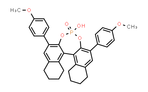 1011465-27-2 | (11bR)​-8,​9,​10,​11,​12,​13,​14,​15-​Octahydro-​4-​hydroxy-​2,​6-​bis(4-​methoxyphenyl)​-4-​oxide-dinaphtho[2,​1-​d:1',​2'-​f]​[1,​3,​2]​dioxaphosphepin