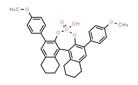 1011465-27-2 | (11bR)-8,9,10,11,12,13,14,15-Octahydro-4-hydroxy-2,6-bis(4-methoxyphenyl)-4-oxide-dinaphtho[2,1-d:1',2'-f][1,3,2]dioxaphosphepin