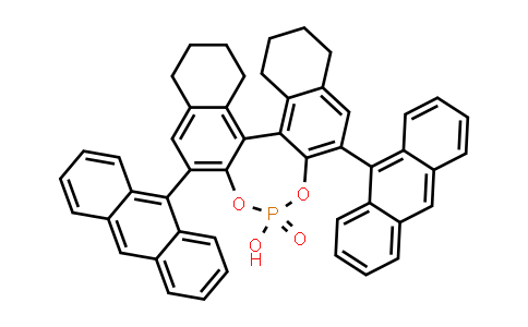1011465-29-4 | (11bR)-2,6-Di-9-anthracenyl-8,9,10,11,12,13,14,15-octahydro-4-hydroxy-4-oxide-dinaphtho[2,1-d:1',2'-f][1,3,2]dioxaphosphepin