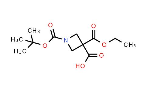 1011479-76-7 | 1-[(Tert-butoxy)carbonyl]-3-(ethoxycarbonyl)azetidine-3-carboxylic acid