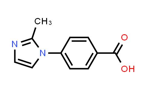 101184-11-6 | 4-(2-Methyl-1H-imidazol-1-yl)benzoic acid