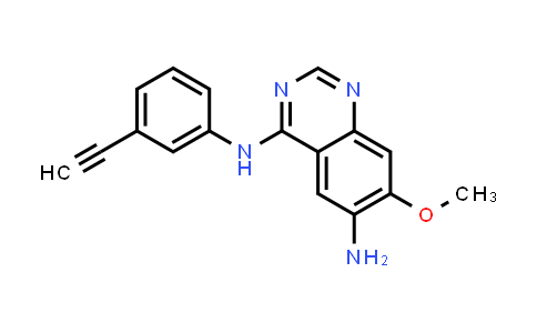 1012057-52-1 | 4-N-(3-Ethynylphenyl)-7-methoxyquinazoline-4,6-diamine
