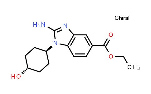 1012104-42-5   Ethyl 2-amino-1-(trans-4-hydroxycyclohexyl)-1H-benzimidazole-5-carboxylate