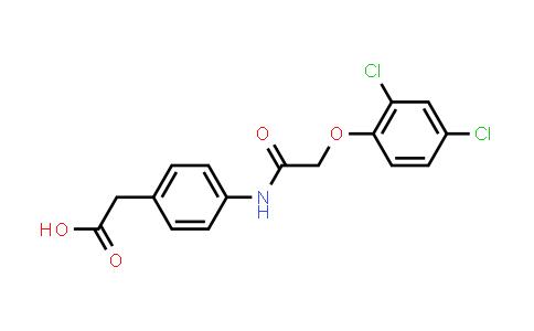 1012207-68-9 | 2-(4-(2-(2,4-Dichlorophenoxy)acetamido)phenyl)acetic acid