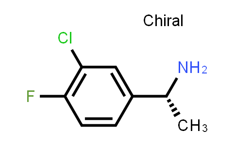 1012305-33-7 | Benzenemethanamine, 3-chloro-4-fluoro-α-methyl-, (αR)-