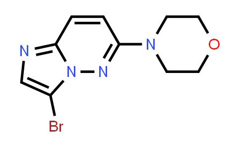 1012343-72-4 | Imidazo[1,2-b]pyridazine, 3-bromo-6-(4-morpholinyl)-
