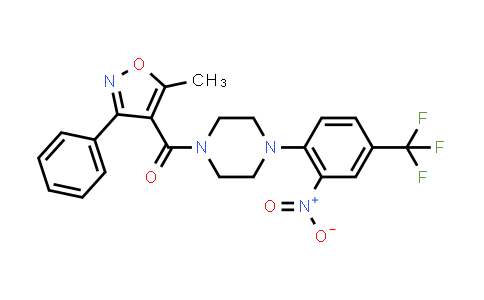 1012490-89-9 | Methanone, (5-methyl-3-phenyl-4-isoxazolyl)[4-[2-nitro-4-(trifluoromethyl)phenyl]-1-piperazinyl]-