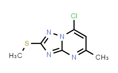 101251-18-7 | 7-Chloro-5-methyl-2-(methylthio)-[1,2,4]triazolo[1,5-a]pyrimidine