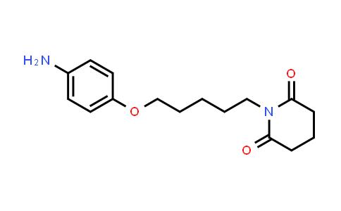101275-49-4 | 1-(5-(4-Aminophenoxy)pentyl)piperidine-2,6-dione