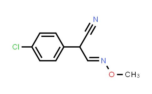 1013061-60-3 | Benzeneacetonitrile, 4-chloro-α-[(E)-(methoxyimino)methyl]-