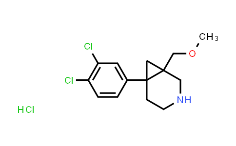 1013098-03-7 | 6-(3,4-Dichlorophenyl)-1-(methoxymethyl)-3-azabicyclo[4.1.0]heptane hydrochloride