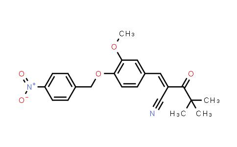 1013252-85-1 | Pentanenitrile, 2-[[3-methoxy-4-[(4-nitrophenyl)methoxy]phenyl]methylene]-4,4-dimethyl-3-oxo-