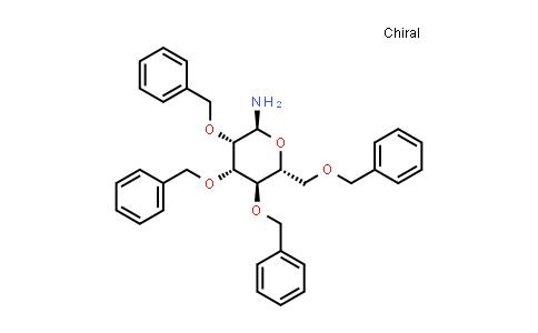 1013326-59-4 | (2S,3S,4S,5R,6R)-3,4,5-tris(Benzyloxy)-6-((benzyloxy)methyl)tetrahydro-2H-pyran-2-amine