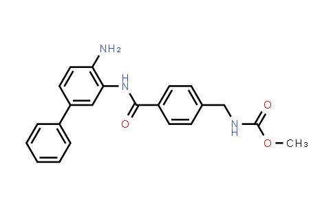 1013330-79-4 | Carbamic acid, N-[[4-[[(4-amino[1,1'-biphenyl]-3-yl)amino]carbonyl]phenyl]methyl]-, methyl ester