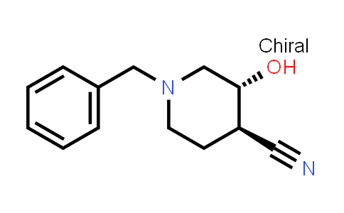 1013333-20-4 | rel-(3R,4R)-1-Benzyl-3-hydroxypiperidine-4-carbonitrile