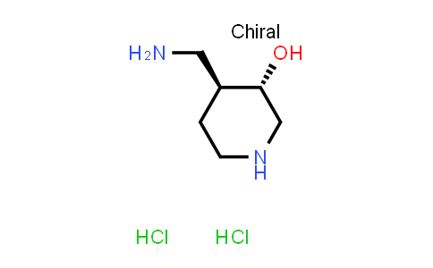 1013333-23-7 | rel-(3S,4S)-4-(Aminomethyl)piperidin-3-ol dihydrochloride