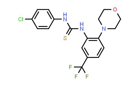 1013566-44-3 | Thiourea, N-(4-chlorophenyl)-N'-[2-(4-morpholinyl)-5-(trifluoromethyl)phenyl]-