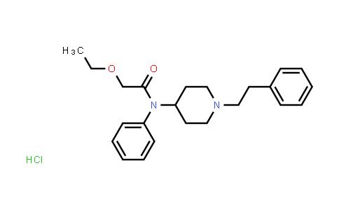 101365-55-3   2-Ethoxy-N-(1-phenethylpiperidin-4-yl)-N-phenylacetamide hydrochloride