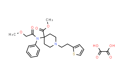 101365-73-5 | Thiofentanil oxalate
