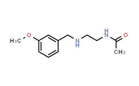 101374-18-9 | Acetamide, N-[2-[(3-methoxyphenyl)methylamino]ethyl]-