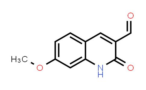 101382-55-2 | 3-Quinolinecarboxaldehyde, 1,2-dihydro-7-methoxy-2-oxo-
