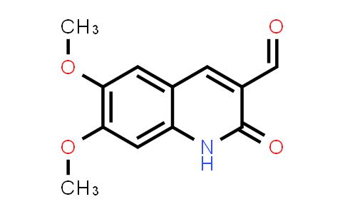 101382-56-3   3-Quinolinecarboxaldehyde, 1,2-dihydro-6,7-dimethoxy-2-oxo-