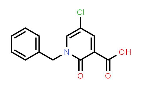 101384-62-7   3-Pyridinecarboxylic acid, 5-chloro-1,2-dihydro-2-oxo-1-(phenylmethyl)-