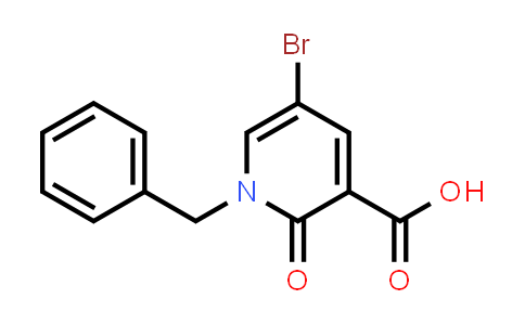 101384-63-8 | 3-Pyridinecarboxylic acid, 5-bromo-1,2-dihydro-2-oxo-1-(phenylmethyl)-