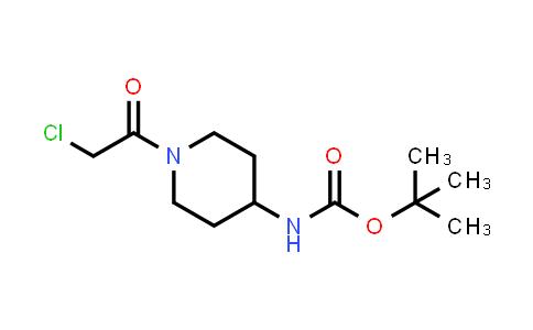 1013921-00-0 | Carbamic acid, N-[1-(2-chloroacetyl)-4-piperidinyl]-, 1,1-dimethylethyl ester