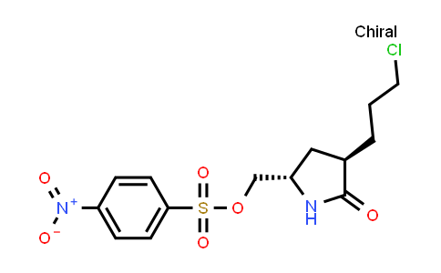 1013937-94-4 | ((2S,4R)-4-(3-chloropropyl)-5-oxopyrrolidin-2-yl)methyl 4-nitrobenzenesulfonate
