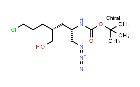 1013937-97-7   tert-Butyl ((2S,4R)-1-azido-7-chloro-4-(hydroxymethyl)heptan-2-yl)carbamate