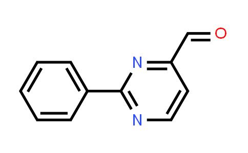 1014-07-9 | 2-Phenylpyrimidine-4-carbaldehyde