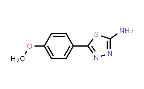 1014-25-1 | 5-(4-Methoxyphenyl)-1,3,4-thiadiazol-2-amine