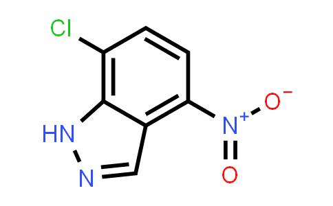 101420-97-7 | 7-Chloro-4-nitro-1H-indazole