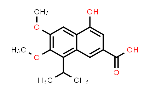 101432-16-0 | 2-Naphthalenecarboxylic acid, 4-hydroxy-6,7-dimethoxy-8-(1-methylethyl)-