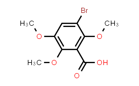 101460-22-4 | Benzoic acid, 3-bromo-2,5,6-trimethoxy-