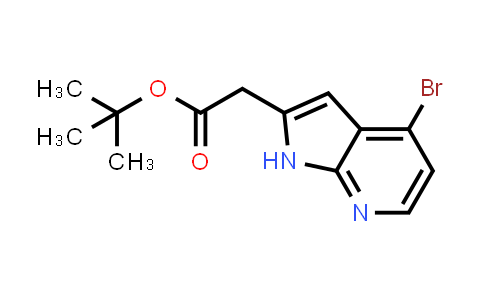 1014612-91-9 | 1H-Pyrrolo[2,3-b]pyridine-2-acetic acid, 4-bromo-, 1,1-dimethylethyl este