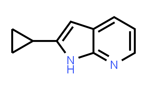 1014613-50-3 | 2-Cyclopropyl-1H-pyrrolo[2,3-b]pyridine